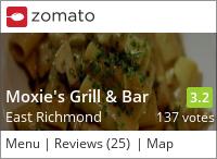 Moxie's Classic Grill (Richmond) on Urbanspoon