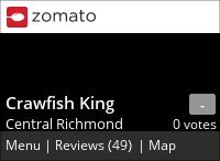 Crawfish King on Urbanspoon