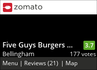 Five Guys Burgers and Fries (Bellingham) on Urbanspoon