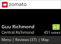Guu Richmond on Urbanspoon