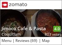 Jimoco Cafe & Pasta on Urbanspoon