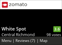 White Spot (Richmond Centre) on Urbanspoon