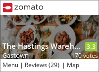 The Hastings Warehouse on Urbanspoon