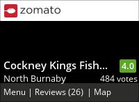 Cockney Kings Fish & Chips (Hastings) on Urbanspoon