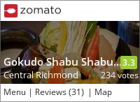 Gokudo Shabu Shabu Hot Pot 極道涮涮鍋 on Urbanspoon
