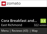 Cora Breakfast & Lunch on Urbanspoon