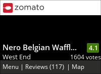 Nero Belgian Waffle Bar on Urbanspoon