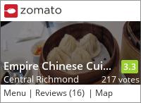 Empire Chinese Cuisine 金粵軒海鮮酒家 on Urbanspoon