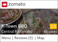 K-Town BBQ on Urbanspoon