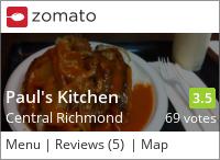 Paul's Kitchen 保羅美食 on Urbanspoon