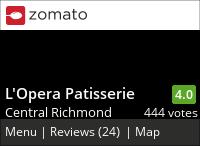 L'Opera Patisserie on Urbanspoon