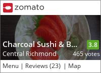 Charcoal Sushi & BBQ Restaurant on Urbanspoon