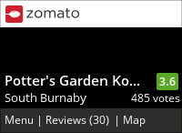 Potter's Garden Korean BBQ 香辣里 on Urbanspoon