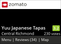 Yuu Japanese Tapas 優 on Urbanspoon
