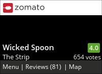 Wicked Spoon on Urbanspoon