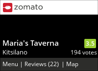 Maria's Taverna on Urbanspoon