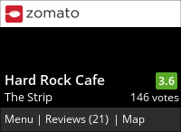 Hard Rock Cafe on Urbanspoon