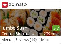 Jumbo Sushi on Urbanspoon