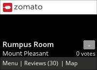 Rumpus Room on Urbanspoon