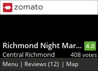 Richmond Night Market on Urbanspoon