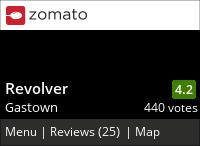 Revolver on Urbanspoon