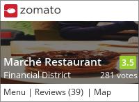 Marche Restaurant on Urbanspoon