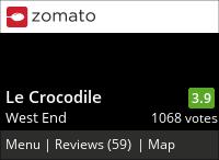 Le Crocodile on Urbanspoon