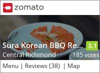 Sura Korean BBQ Cuisine on Urbanspoon