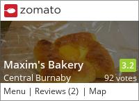 Maxim's 美心餅店 on Urbanspoon