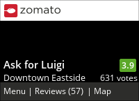 Ask for Luigi on Urbanspoon