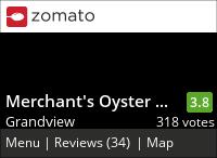 Merchant's Oyster Bar on Urbanspoon