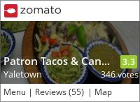 Patron Tacos & Cantina on Urbanspoon
