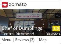 Chef of Dumplings on Urbanspoon