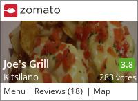 Joe's Grill on Urbanspoon