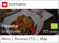 Havana Restaurant & Gallery on Urbanspoon