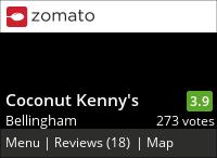 Coconut Kenny's on Urbanspoon