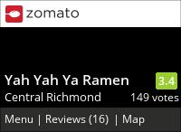 Yah Yah Ya Ramen on Urbanspoon