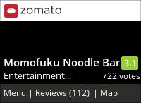 Momofuku Noodle Bar on Urbanspoon