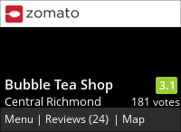Bubble Tea Shop on Urbanspoon
