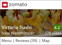 Victoria Sushi on Urbanspoon