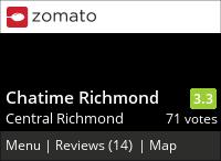 Chatime 日出茶太 (Richmond) on Urbanspoon